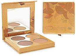 Parfumuri și produse cosmetice Paletă iluminator pentru față - Couleur Caramel Highlighter Palette