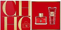 Parfumuri și produse cosmetice Carolina Herrera CH Privee - Set (edp/80 ml + b/lot/100 ml)