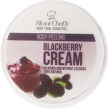 "Parfumuri și produse cosmetice Scrub pentru corp ""Blackberry cream"" - Hristina Stani Chef'S Blackberry Cream Body Peeling"