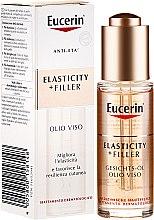 Parfumuri și produse cosmetice Ulei de față - Eucerin Hyaluron-Filler + Elasticity Facial Oil