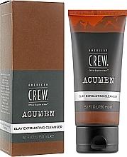 Parfumuri și produse cosmetice Demachiant exfoliant pentru față, cu argilă - American Crew Acumen Clay Exfoliating Cleanser