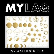 "Parfumuri și produse cosmetice Abțibilduri pentru unghii ""Planete"" - MylaQ My Water Sticker"