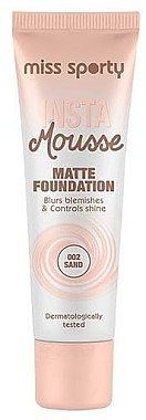 Fond de ten matifiant - Miss Sporty Insta Mousse Matte Foundation