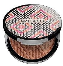 Parfumuri și produse cosmetice Pudră în 3 nuanțe cu efect de bronzare pentru față - Atrdeco All Seasons Bronzing Powder
