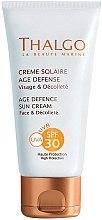 Parfumuri și produse cosmetice Crema protecție solară anti-îmbătrânire - Thalgo Age Defence Sun Cream SPF 30