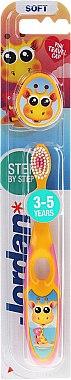 Periuța de dinți Step 2 (3-5)ani, moale - Jordan — Imagine N1