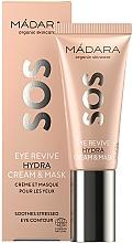 Parfumuri și produse cosmetice Cremă-mască pentru zona ochilor - Madara Cosmetics SOS Eye Revive Hydra Cream & Mask