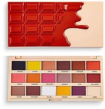 Parfumuri și produse cosmetice Paletă farduri de ochi - I Heart Revolution Eyeshadow Chocolate Palette Cinnamon