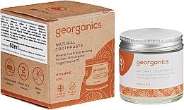 Parfumuri și produse cosmetice Pastă de dinți naturală pentru copii - Georganics Red Mandarin Natural Toothpaste
