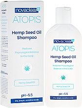 Parfumuri și produse cosmetice Șampon cu ulei organic de cânepă - Novaclear Atopis Hemp Seed Oil Shampoo