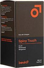 Parfumuri și produse cosmetice Be-Viro Spicy Touch Men?s Only - Apă de colonie