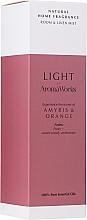 "Parfumuri și produse cosmetice Odorizant de aer ""Amiris și Orange"" - AromaWorks Light Range Room Mist"