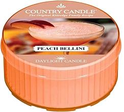 Parfumuri și produse cosmetice Lumânare aromată - Country Candle Peach Bellini Daylight