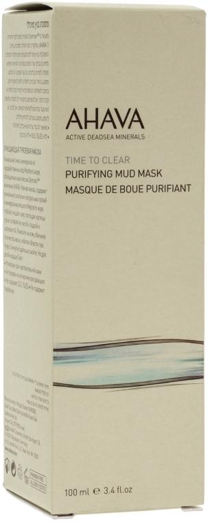 Mască de curățare pentru față - Ahava Time To Clear Purifying Mud Mask — Imagine N2