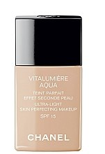 Parfumuri și produse cosmetice Fond de ten - Chanel Vitalumiere Aqua