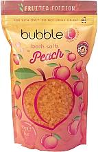 """Parfumuri și produse cosmetice Sare de baie """"Piersică"""" - Bubble T Cosmetics Bath Salt Peach"""
