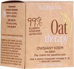 Parfumuri și produse cosmetice Cremă cu extract de fulgi de ovăz pentru pielea sensibilă, de zi - Soraya Oat Therapy Day Cream