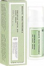 Parfumuri și produse cosmetice Cremă cu extract de edelweiss, de noapte pentru față - Beaute Mediterranea Edelweiss Facial Bio Night Cream