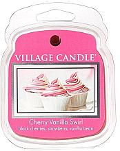 Parfumuri și produse cosmetice Ceară aromatică - Village Candle Cherry Vanilla Swirl Wax