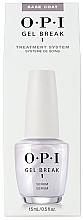 Parfumuri și produse cosmetice Top coat pentru unghii - O.P.I Gel Break Serum Base Coat