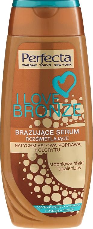 Autobronzant pentru corp - Perfecta I Love Bronze Serum