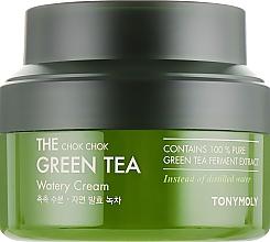 Parfumuri și produse cosmetice Cremă de extract de ceai verde - Tony Moly The Chok Chok Green Tea Watery Cream