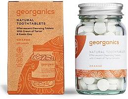 """Parfumuri și produse cosmetice Tablete pentru igiena orală """"Portocală"""" - Georganics Natural Toothtablets Orange"""