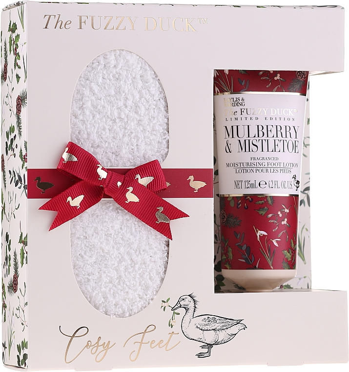 Set - Baylis & Harding The Fuzzy Duck Winter Wonderland Foot Care Set (f/lot/50ml + socks) — Imagine N1