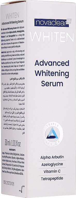 Ser pentru față - Novaclear Whiten Whitening Serum — Imagine N1