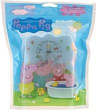 """Parfumuri și produse cosmetice Burete de baie """"Purcelușa Peppa"""", parc, albastră - Suavipiel Peppa Pig Bath Sponge"""