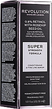 Parfumuri și produse cosmetice Ser cu retinol și ulei de trandafir pentru față - Revolution Skincare Retinol Serum 0,5% With Rosehip Seed Oil