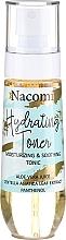 Parfumuri și produse cosmetice Tonic pentru față - Nacomi Hydrating Moisturizing & Soothing Tonic
