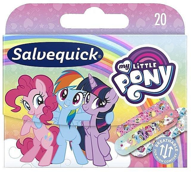 Детские пластыри - Salvequick My Little Pony — фото N1