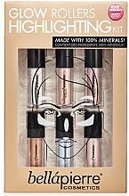 Parfumuri și produse cosmetice Set de iluminatoare pentru față - Bellapierre Glow Roller Highlighting Kit