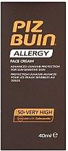 Parfumuri și produse cosmetice Cremă pentru față cu protecție solară - Piz Buin Allergy Face Cream SPF50