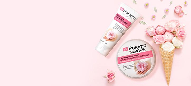 La achiziționarea produselor Paloma în sumă de la 89 MDL primești cadou scrub de zahăr pentru mâini