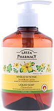 """Parfumuri și produse cosmetice Săpun lichid pentru mâini """"Cleaner"""" - Green Pharmacy Celandine Liquid Soap"""