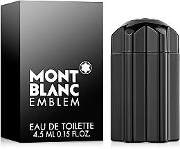 Parfumuri și produse cosmetice Montblanc Emblem - Apă de toaletă (mini)
