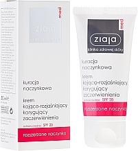 Parfumuri și produse cosmetice Cremă calmantă și hidratantă SPF20 - Ziaja Med Soothing And Whitening Cream SPF20
