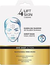 Parfumuri și produse cosmetice Mască cu extract de mucină de melc pentru față - AA Cosmetics Lift 4 Skin Sheet Mask Snail Mucin