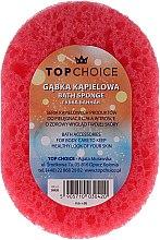 Parfumuri și produse cosmetice Burete de duș 30420, roșie - Top Choice