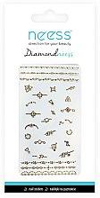 Parfumuri și produse cosmetice Nail Art Stickers, 3712 - Neess Diamondneess