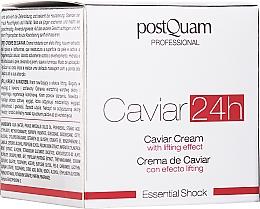 Parfumuri și produse cosmetice Cremă-lifting pentru față - Postquam Caviar 24h Cream Lifting Effect