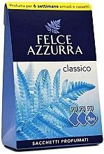 """Духи, Парфюмерия, косметика Plic parfumat """"Clasic"""" - Felce Azzurra Sachets Classic"""