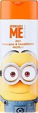 Parfumuri și produse cosmetice Șampon-Balsam de păr pentru copii - Corsair Despicable Me Minions 2in1 Shampoo&Conditioner