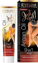 Parfumuri și produse cosmetice Cremă depilatoare 9 în1 - Eveline Cosmetics Argan Oil