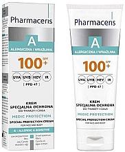 Parfumuri și produse cosmetice Cremă protecție solară pentru față - Pharmaceris A Medic Protection Special Protection Cream SPF 100+