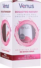 Parfumuri și produse cosmetice Set - Venus (shower oil/250ml + b/oil/150ml + sponge)