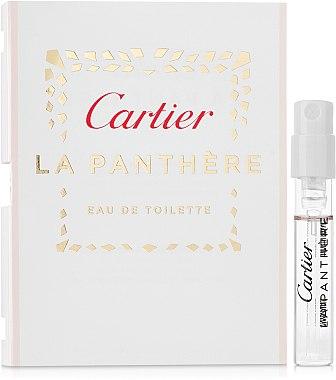 Cartier La Panthere Eau de Toilette - Apă de toaletă (mostră)