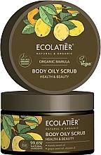 """Parfumuri și produse cosmetice Scrub pentru corp """"Sănătate și frumusețe"""" - Ecolatier Organic Marula Body Oily Scrub"""